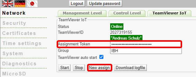 IBH Link IoT TW Assigment token Assign.png