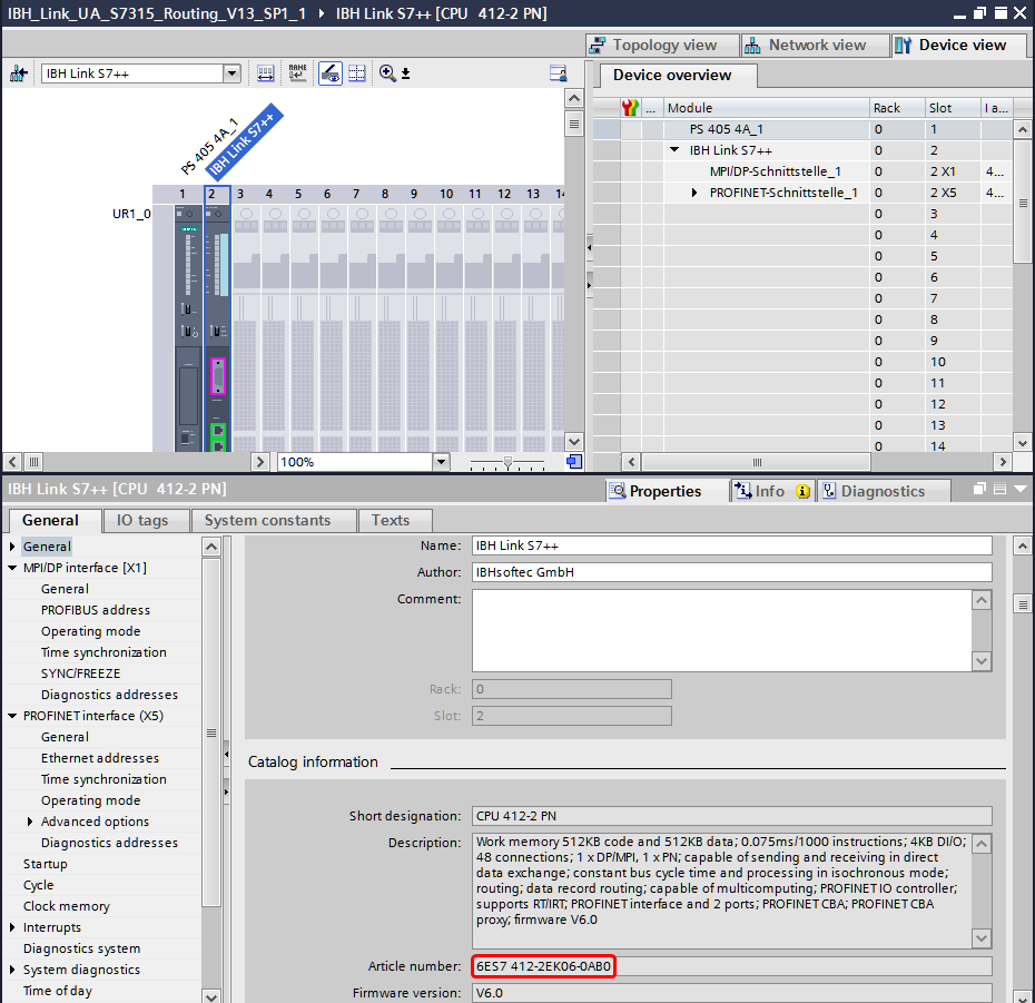 IBH Link UA:Configuration with TIA Portal - IBHsoftec Wiki English